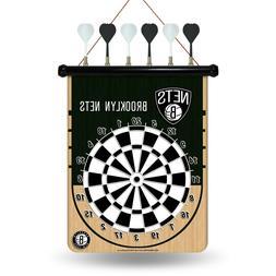 NBA Brooklyn Nets Magnetic Dart Board