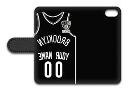 NBA Brooklyn Nets Personalized Name/Number iPhone iPod Walle