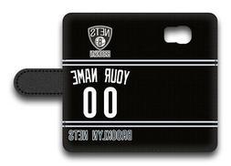 NBA Brooklyn Nets Personalized Name/Number Samsung Phone Wal