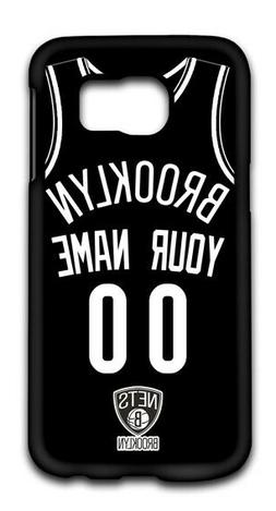 NBA Brooklyn Nets Personalized Name/Number Samsung Phone Cas