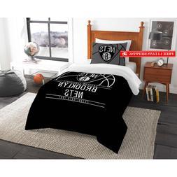 nba brooklyn nets reverse slam bedding comforter