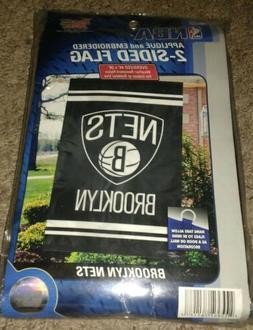 nba brooklyn nets two sided flag 44