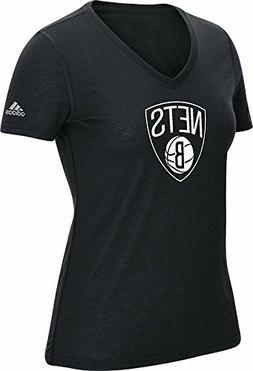 "NBA Brooklyn Nets Womens Team Logo 6"" Climalite Ultimate Sho"