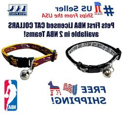 Pets First NBA Cat Collars - Licensed, Heavy Duty, Durable w