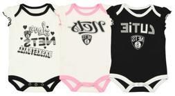 Outerstuff NBA Infant Girls Brooklyn Nets Dribble Time 3 Pac