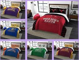 nba licensed 3 piece full queen comforter