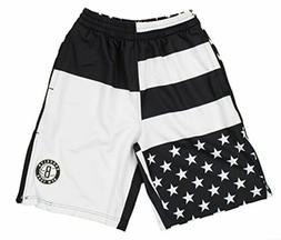 Zipway NBA Men's Brooklyn Nets Flag Athletic Shorts