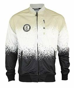 Zipway NBA Men's Brooklyn Nets Retro Pop Full Zip Jacket, Bl