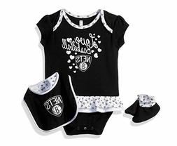 Outerstuff NBA Newborn & Infant Clothes, Bib and Booties 0-3