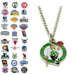 NBA Pendant Necklace - Choose Your Team