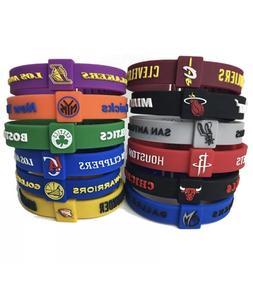nba silicone wristband adjustable clasp bracelet cavaliers