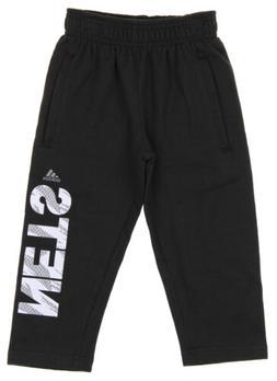 Adidas NBA Toddlers Brooklyn Nets Vertical Cut Fleece Pants,
