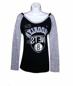 Nba Womens Apparel - Brooklyn Nets Adidas Ladies Nba Scoop N