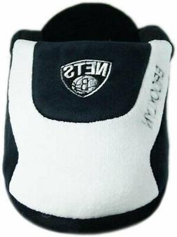 Nets Brooklyn NBA Comfy Feet Black White Slippers Adult Unis