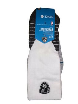 New Men's Stance 559 NBA Brooklyn Nets Basketball Socks Sz