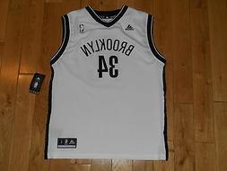 NEW ADIDAS PAUL PIERCE BROOKLYN NETS #34 YOUTH NBA TEAM REPL