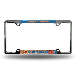 New York Knicks Easy View Chrome License Plate Frame