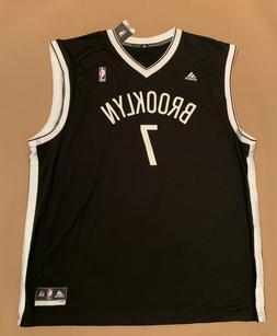 NWT ADIDAS NBA Black Jersey Brooklyn Nets Jeremy Lin Size 2X