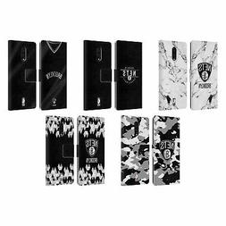 OFFICIAL NBA 2018/19 BROOKLYN NETS LEATHER BOOK CASE FOR BLA