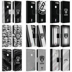 OFFICIAL NBA BROOKLYN NETS LEATHER BOOK WALLET CASE FOR GOOG