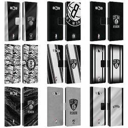 OFFICIAL NBA BROOKLYN NETS LEATHER BOOK WALLET CASE FOR SAMS