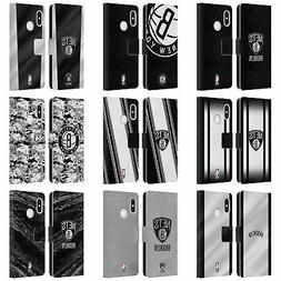 OFFICIAL NBA BROOKLYN NETS LEATHER BOOK WALLET CASE COVER FO