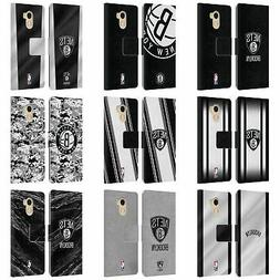 OFFICIAL NBA BROOKLYN NETS LEATHER BOOK WALLET CASE FOR WILE