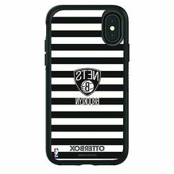 OtterBox Black Phone case with Brooklyn Nets Primary Logo an