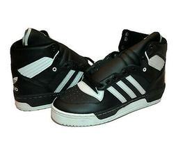 Adidas Rivalry High Ewing Nets Black White Basketball Shoes