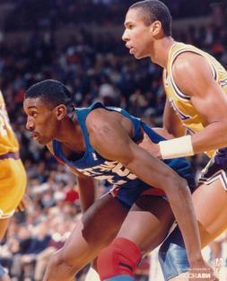 Roy Hinson New Jersey Nets NBA Basketball Unsigned Glossy 8x