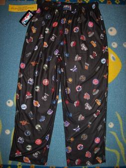 NBA Sleepwear Pajama Loungewear Boys L 14-16 S 8 Basketball