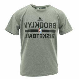 Youth Boys Adidas Climalite Brooklyn Nets NBA Pratice T-Shir