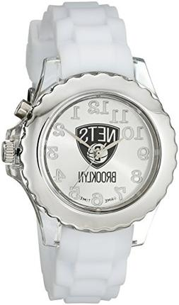 "Game Time Youth NBA-FLW-BK ""Flash White"" Watch - Brooklyn Ne"